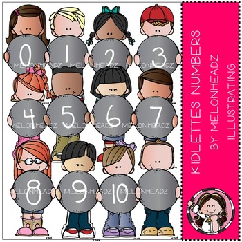 Kidlettes Numbers by Melonheadz COMBO PACK