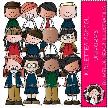 Kidlettes School Uniforms by Melonheadz COMBO PACK