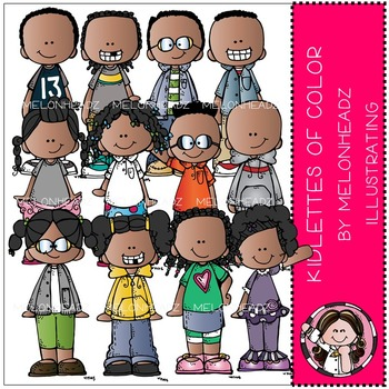 Kidlettes of Color by Melonheadz COMBO PACK