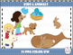 Kids & Animals Clip Art