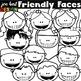 Kids Clipart (Friendly Faces)
