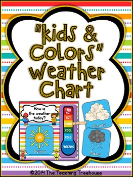 """Kids & Colors"" Weather Chart"