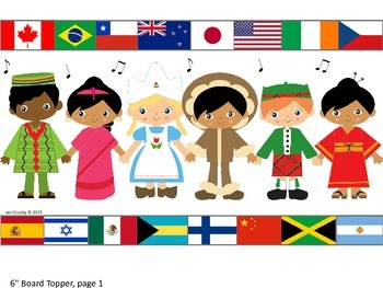 Kids & Countries - World-wide/Multi-Cultural Music Borders