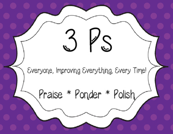 Jubilee's Junction  * Praise, Ponder, Polish POSTER Set/3