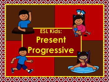 Kids ESL: Beginner ESL: Present Continuous/Present Progressive