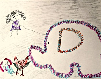 Art and Literacy Project: Little Lou & the Woolly Mammoth