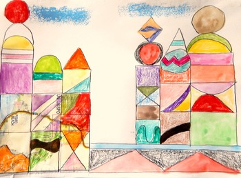 Art Lesson Teach Paul Klee Grade K-6 Art Masterpiece Castl