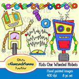 Kids One Wheeled Robots