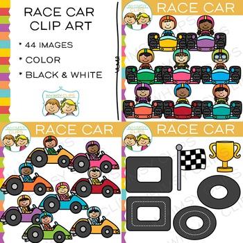 Race Car Clip Art