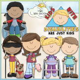 Kids With Disabilities Clip Art - Special Needs Clip Art -