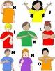 Kids in Action: Alphabet Motion Clip Art to Teach Letter S