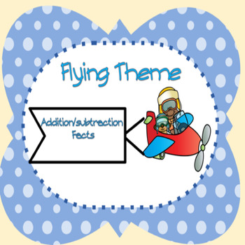 Kids in Flight Addition/Subtraction Facts