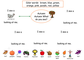 Kidspiration - Autumn, Autumn  (Brown Bear, Brown Bear)