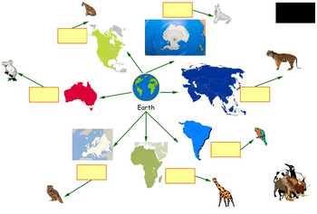 Kidspiration : Identify the Continents