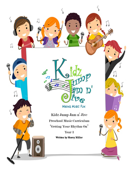 Kidz Jump Jam n' Jive Preschool Curriculum Year 1, Getting