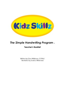 Kidz Skillz: The Simple Handwriting Program - Teacher's Booklet