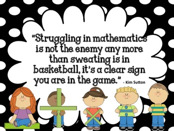 Kim Sutton Quote about Math