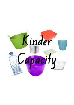 Measurement: Capacity for Kindergarten - Capacity: Which w
