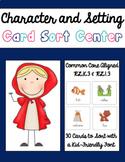 Kinder Character and Setting Sort
