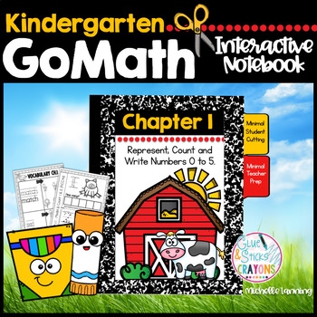 Kinder Interactive Notebook Chapter 1-Represent, Count and