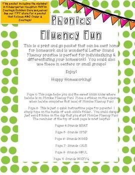 Swift Sounds Fluency: Kinder Journeys Common Core