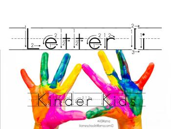 Kinder Kids - Letter Ii Bundle
