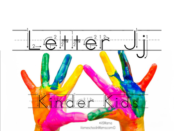 Kinder Kids - Letter Jj Bundle