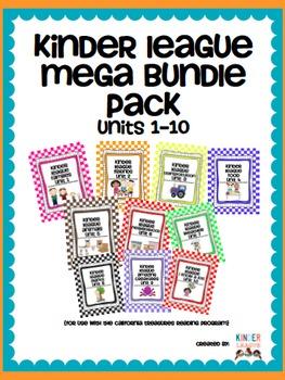 Kinder League Mega Pack Units 1-10