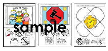 Kinder Rules and Laws in Social Studies (English and Spanish)