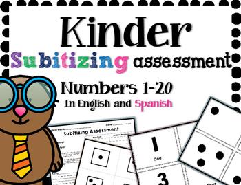 Kinder Subitizing Assessment