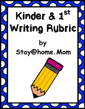 Kinder and 1st Writing Rubric