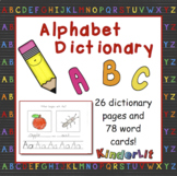 Alphabet Dictionary Book