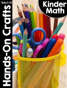 KinderMath Hands-On Crafts