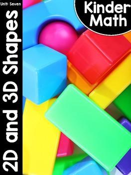 KinderMath Unit Seven: Flat and Solid Shapes