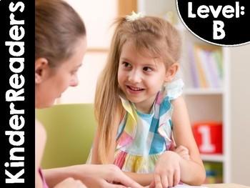 KinderReaders LEVEL: B *ENGLISH AND SPANISH*
