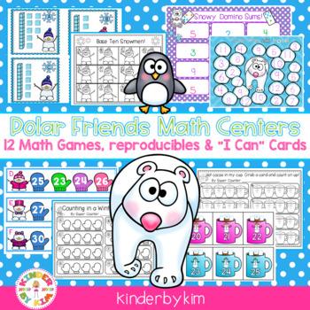 Kinderbykim's  Polar Bear Friends Math Centers