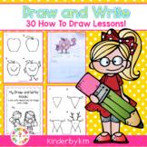 Kinderbykim's Draw and Write