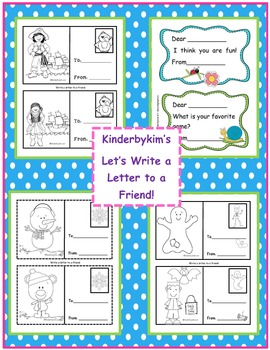 Kinderbykim's Write a Letter to a Friend Stationary Pack
