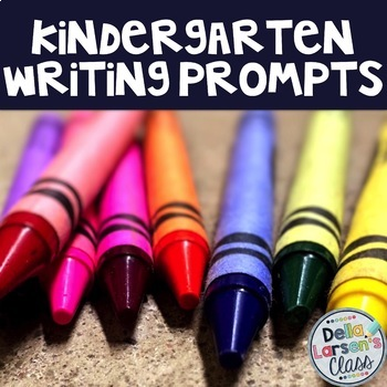 Writing Prompt MEGA BUNDLE for Kindergarten