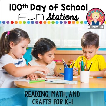 100th Day of School - Print and Go!