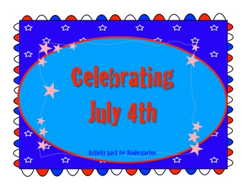 Kindergarten 4th of July activities