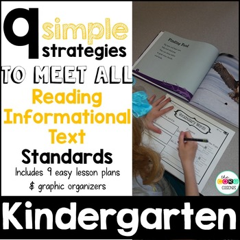 Kindergarten: 9 Simple Informational Text Strategies to me