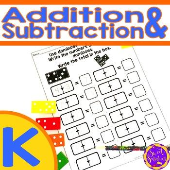 Kindergarten Addition and Subtraction (K.OA.1; K.OA.2; K.OA.5)