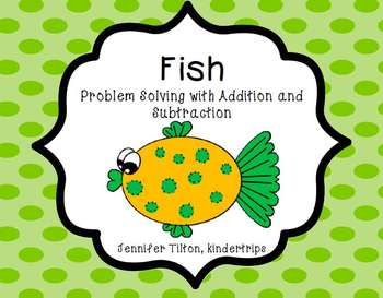 Kindergarten Addition and Subtraction Problem Solving and