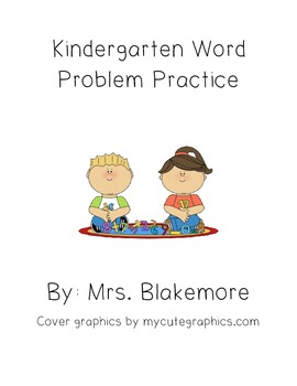 Kindergarten Addition and Subtraction Word Problems