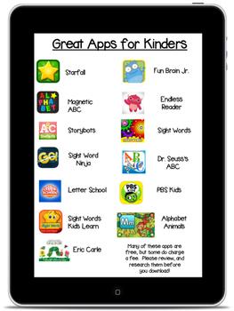 Kindergarten Apps for Parents