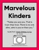 Kindergarten Autobiography MARVELOUS MAGNIFICENT ME!
