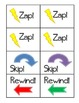 ZAP! Sight Word & Word Work Game ~ Kindergarten BUNDLE (2