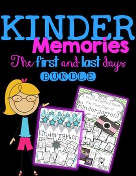 Kindergarten BUNDLE {first and last days} Memory Books! SA