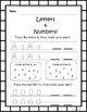 Kindergarten Back to School August and September Math and